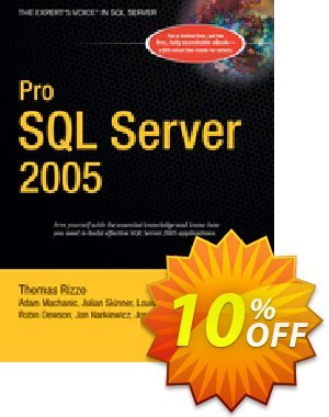 Pro SQL Server 2005 (Dewson) discount coupon Pro SQL Server 2005 (Dewson) Deal - Pro SQL Server 2005 (Dewson) Exclusive Easter Sale offer for iVoicesoft