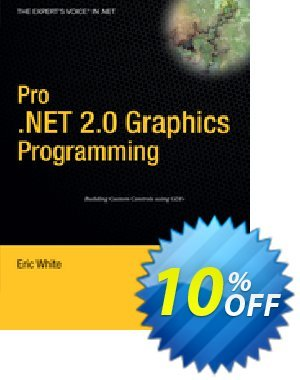 Pro .NET 2.0 Graphics Programming (White) Coupon, discount Pro .NET 2.0 Graphics Programming (White) Deal. Promotion: Pro .NET 2.0 Graphics Programming (White) Exclusive Easter Sale offer for iVoicesoft