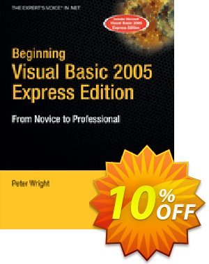 Beginning Visual Basic 2005 Express Edition (Wright) discount coupon Beginning Visual Basic 2005 Express Edition (Wright) Deal - Beginning Visual Basic 2005 Express Edition (Wright) Exclusive Easter Sale offer for iVoicesoft