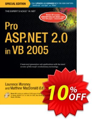 Pro ASP.NET 2.0 in VB 2005, Special Edition (Moroney) Coupon, discount Pro ASP.NET 2.0 in VB 2005, Special Edition (Moroney) Deal. Promotion: Pro ASP.NET 2.0 in VB 2005, Special Edition (Moroney) Exclusive Easter Sale offer for iVoicesoft