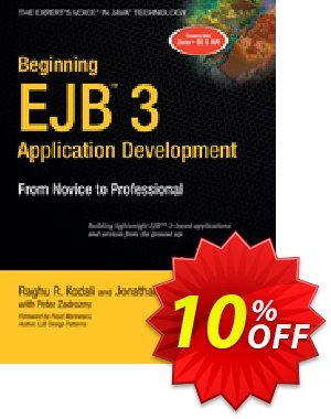 Beginning EJB 3 Application Development (Kodali) Coupon discount Beginning EJB 3 Application Development (Kodali) Deal. Promotion: Beginning EJB 3 Application Development (Kodali) Exclusive Easter Sale offer for iVoicesoft