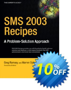 SMS 2003 Recipes (Ramsey) discount coupon SMS 2003 Recipes (Ramsey) Deal - SMS 2003 Recipes (Ramsey) Exclusive Easter Sale offer for iVoicesoft