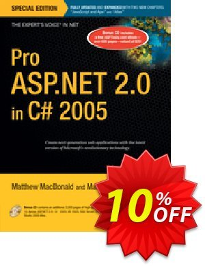 Pro ASP.NET 2.0 in C# 2005, Special Edition (Szpuszta) discount coupon Pro ASP.NET 2.0 in C# 2005, Special Edition (Szpuszta) Deal - Pro ASP.NET 2.0 in C# 2005, Special Edition (Szpuszta) Exclusive Easter Sale offer for iVoicesoft