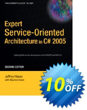 Expert Service-Oriented Architecture in C# 2005 (Duran) discount coupon Expert Service-Oriented Architecture in C# 2005 (Duran) Deal - Expert Service-Oriented Architecture in C# 2005 (Duran) Exclusive Easter Sale offer for iVoicesoft