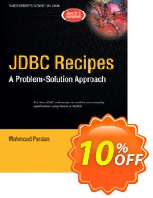 JDBC Recipes (Parsian) discount coupon JDBC Recipes (Parsian) Deal - JDBC Recipes (Parsian) Exclusive Easter Sale offer for iVoicesoft