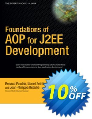 Foundations of AOP for J2EE Development (Seinturier) 프로모션 코드 Foundations of AOP for J2EE Development (Seinturier) Deal 프로모션: Foundations of AOP for J2EE Development (Seinturier) Exclusive Easter Sale offer for iVoicesoft