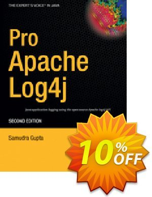 Pro Apache Log4j (Gupta) discount coupon Pro Apache Log4j (Gupta) Deal - Pro Apache Log4j (Gupta) Exclusive Easter Sale offer for iVoicesoft