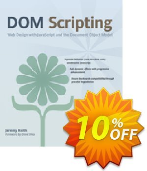 DOM Scripting (Keith) discount coupon DOM Scripting (Keith) Deal - DOM Scripting (Keith) Exclusive Easter Sale offer for iVoicesoft