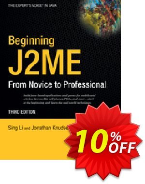 Beginning J2ME (Li) discount coupon Beginning J2ME (Li) Deal - Beginning J2ME (Li) Exclusive Easter Sale offer for iVoicesoft