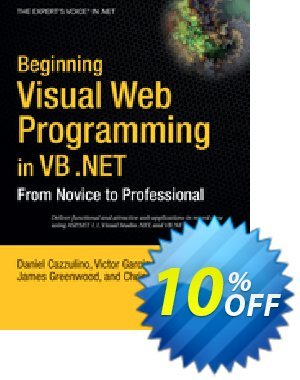 Beginning Visual Web Programming in VB .NET (Hart) discount coupon Beginning Visual Web Programming in VB .NET (Hart) Deal - Beginning Visual Web Programming in VB .NET (Hart) Exclusive Easter Sale offer for iVoicesoft