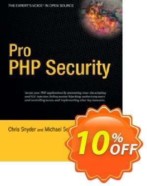 Pro PHP Security (Snyder) 優惠券,折扣碼 Pro PHP Security (Snyder) Deal,促銷代碼: Pro PHP Security (Snyder) Exclusive Easter Sale offer for iVoicesoft