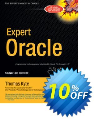 Expert One-on-One Oracle (Kyte) 優惠券,折扣碼 Expert One-on-One Oracle (Kyte) Deal,促銷代碼: Expert One-on-One Oracle (Kyte) Exclusive Easter Sale offer for iVoicesoft