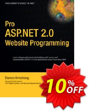 Pro ASP.NET 2.0 Website Programming (Armstrong) discount coupon Pro ASP.NET 2.0 Website Programming (Armstrong) Deal - Pro ASP.NET 2.0 Website Programming (Armstrong) Exclusive Easter Sale offer for iVoicesoft