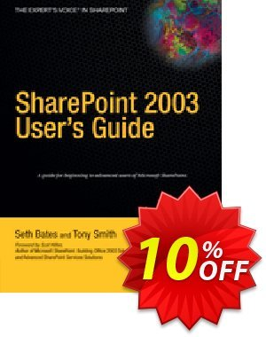 SharePoint 2003 User's Guide (Bates) discount coupon SharePoint 2003 User's Guide (Bates) Deal - SharePoint 2003 User's Guide (Bates) Exclusive Easter Sale offer for iVoicesoft