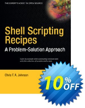 Shell Scripting Recipes (Johnson) discount coupon Shell Scripting Recipes (Johnson) Deal - Shell Scripting Recipes (Johnson) Exclusive Easter Sale offer for iVoicesoft