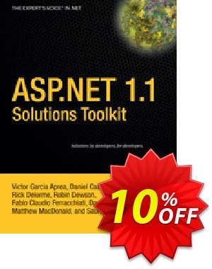ASP.NET 1.1 Solutions Toolkit (MacDonald) discount coupon ASP.NET 1.1 Solutions Toolkit (MacDonald) Deal - ASP.NET 1.1 Solutions Toolkit (MacDonald) Exclusive Easter Sale offer for iVoicesoft