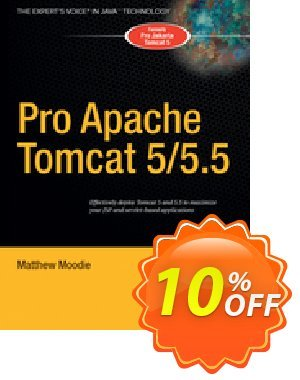 Pro Apache Tomcat 5/5.5 (Moodie) 프로모션 코드 Pro Apache Tomcat 5/5.5 (Moodie) Deal 프로모션: Pro Apache Tomcat 5/5.5 (Moodie) Exclusive Easter Sale offer for iVoicesoft