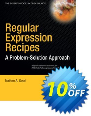 Regular Expression Recipes (Good) discount coupon Regular Expression Recipes (Good) Deal - Regular Expression Recipes (Good) Exclusive Easter Sale offer for iVoicesoft