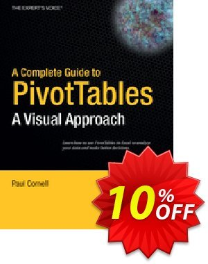 A Complete Guide to PivotTables (Cornell) discount coupon A Complete Guide to PivotTables (Cornell) Deal - A Complete Guide to PivotTables (Cornell) Exclusive Easter Sale offer for iVoicesoft