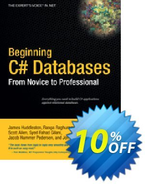 Beginning C# Databases (Allen) discount coupon Beginning C# Databases (Allen) Deal - Beginning C# Databases (Allen) Exclusive Easter Sale offer for iVoicesoft