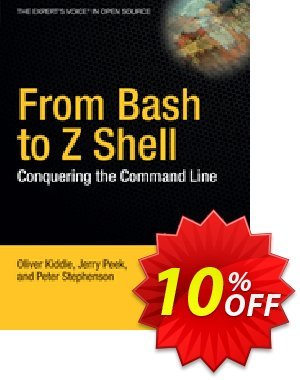 From Bash to Z Shell (Kiddle) discount coupon From Bash to Z Shell (Kiddle) Deal - From Bash to Z Shell (Kiddle) Exclusive Easter Sale offer for iVoicesoft