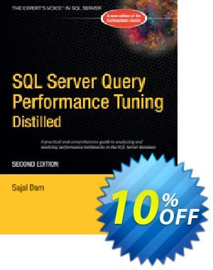 SQL Server Query Performance Tuning Distilled (Dam) discount coupon SQL Server Query Performance Tuning Distilled (Dam) Deal - SQL Server Query Performance Tuning Distilled (Dam) Exclusive Easter Sale offer for iVoicesoft