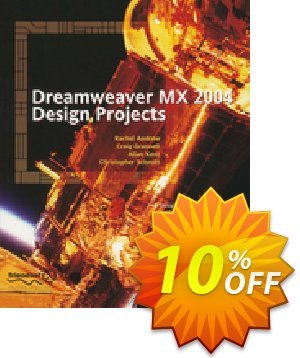 Dreamweaver MX 2004 Design Projects (Kent) discount coupon Dreamweaver MX 2004 Design Projects (Kent) Deal - Dreamweaver MX 2004 Design Projects (Kent) Exclusive Easter Sale offer for iVoicesoft