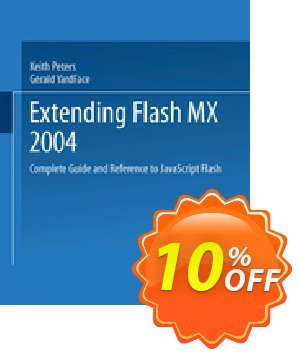 Extending Flash MX 2004 (Peters) discount coupon Extending Flash MX 2004 (Peters) Deal - Extending Flash MX 2004 (Peters) Exclusive Easter Sale offer for iVoicesoft