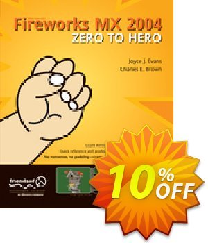 Fireworks MX 2004 Zero to Hero (Brown) 프로모션 코드 Fireworks MX 2004 Zero to Hero (Brown) Deal 프로모션: Fireworks MX 2004 Zero to Hero (Brown) Exclusive Easter Sale offer for iVoicesoft
