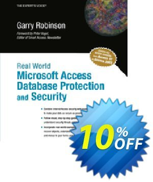 Real World Microsoft Access Database Protection and Security (Robinson) discount coupon Real World Microsoft Access Database Protection and Security (Robinson) Deal - Real World Microsoft Access Database Protection and Security (Robinson) Exclusive Easter Sale offer for iVoicesoft