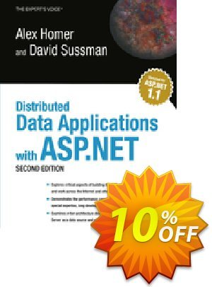 Distributed Data Applications with ASP.NET (Homer) discount coupon Distributed Data Applications with ASP.NET (Homer) Deal - Distributed Data Applications with ASP.NET (Homer) Exclusive Easter Sale offer for iVoicesoft