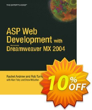 ASP Web Development with Macromedia Dreamweaver MX 2004 (Andrew) discount coupon ASP Web Development with Macromedia Dreamweaver MX 2004 (Andrew) Deal - ASP Web Development with Macromedia Dreamweaver MX 2004 (Andrew) Exclusive Easter Sale offer for iVoicesoft