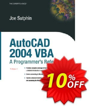 AutoCAD 2004 VBA (Sutphin) discount coupon AutoCAD 2004 VBA (Sutphin) Deal - AutoCAD 2004 VBA (Sutphin) Exclusive Easter Sale offer for iVoicesoft