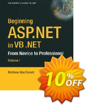 Beginning ASP.NET in VB .NET (MacDonald) 프로모션 코드 Beginning ASP.NET in VB .NET (MacDonald) Deal 프로모션: Beginning ASP.NET in VB .NET (MacDonald) Exclusive Easter Sale offer for iVoicesoft