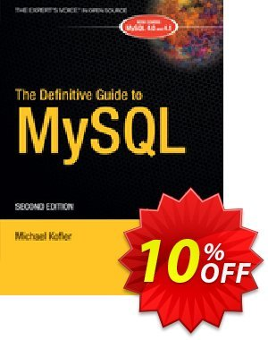 The Definitive Guide to MySQL (Kofler) discount coupon The Definitive Guide to MySQL (Kofler) Deal - The Definitive Guide to MySQL (Kofler) Exclusive Easter Sale offer for iVoicesoft