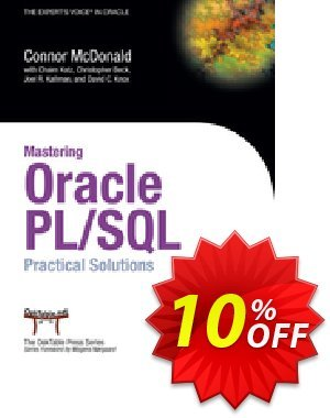 Mastering Oracle PL/SQL (Beck) discount coupon Mastering Oracle PL/SQL (Beck) Deal - Mastering Oracle PL/SQL (Beck) Exclusive Easter Sale offer for iVoicesoft