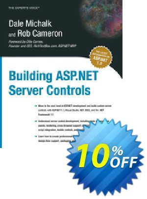 Building ASP.NET Server Controls (Michalk) discount coupon Building ASP.NET Server Controls (Michalk) Deal - Building ASP.NET Server Controls (Michalk) Exclusive Easter Sale offer for iVoicesoft