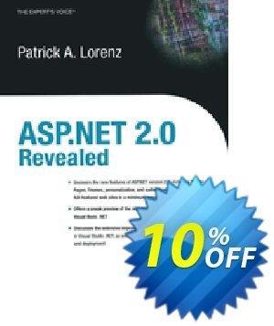 ASP.NET 2.0 Revealed (Lorenz) Coupon discount ASP.NET 2.0 Revealed (Lorenz) Deal. Promotion: ASP.NET 2.0 Revealed (Lorenz) Exclusive Easter Sale offer for iVoicesoft