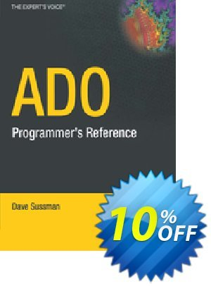 ADO Programmer's Reference (Sussman) 프로모션 코드 ADO Programmer's Reference (Sussman) Deal 프로모션: ADO Programmer's Reference (Sussman) Exclusive Easter Sale offer for iVoicesoft