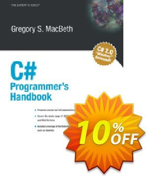 C# Programmer's Handbook (Macbeth) 프로모션 코드 C# Programmer's Handbook (Macbeth) Deal 프로모션: C# Programmer's Handbook (Macbeth) Exclusive Easter Sale offer for iVoicesoft