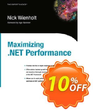 Maximizing .NET Performance (Wienholt) 프로모션 코드 Maximizing .NET Performance (Wienholt) Deal 프로모션: Maximizing .NET Performance (Wienholt) Exclusive Easter Sale offer for iVoicesoft