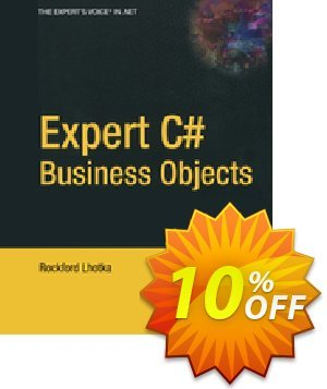 Expert C# Business Objects (Lhotka) 프로모션 코드 Expert C# Business Objects (Lhotka) Deal 프로모션: Expert C# Business Objects (Lhotka) Exclusive Easter Sale offer for iVoicesoft