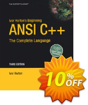Ivor Horton's Beginning ANSI C++ (Horton) discount coupon Ivor Horton's Beginning ANSI C++ (Horton) Deal - Ivor Horton's Beginning ANSI C++ (Horton) Exclusive Easter Sale offer for iVoicesoft