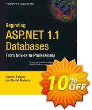 Beginning ASP.NET 1.1 Databases (Maharry) discount coupon Beginning ASP.NET 1.1 Databases (Maharry) Deal - Beginning ASP.NET 1.1 Databases (Maharry) Exclusive Easter Sale offer for iVoicesoft