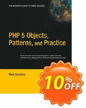 PHP 5 Objects, Patterns, and Practice (Zandstra) discount coupon PHP 5 Objects, Patterns, and Practice (Zandstra) Deal - PHP 5 Objects, Patterns, and Practice (Zandstra) Exclusive Easter Sale offer for iVoicesoft