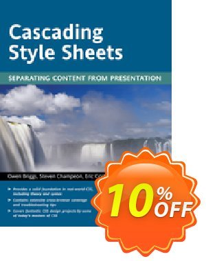 Cascading Style Sheets (Briggs) discount coupon Cascading Style Sheets (Briggs) Deal - Cascading Style Sheets (Briggs) Exclusive Easter Sale offer for iVoicesoft