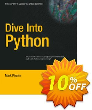 Dive Into Python (Pilgrim) discount coupon Dive Into Python (Pilgrim) Deal - Dive Into Python (Pilgrim) Exclusive Easter Sale offer for iVoicesoft