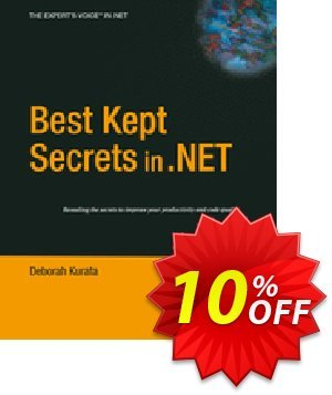 Best Kept Secrets in .NET (Kurata) Gutschein rabatt Best Kept Secrets in .NET (Kurata) Deal Aktion: Best Kept Secrets in .NET (Kurata) Exclusive Easter Sale offer for iVoicesoft