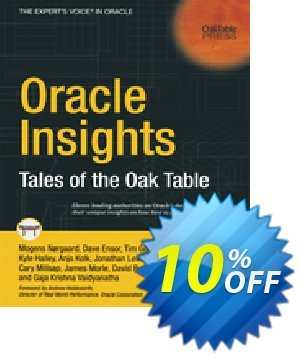 Oracle Insights (Millsap) discount coupon Oracle Insights (Millsap) Deal - Oracle Insights (Millsap) Exclusive Easter Sale offer for iVoicesoft