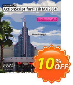 Foundation ActionScript for Flash MX 2004 (Bhangal) discount coupon Foundation ActionScript for Flash MX 2004 (Bhangal) Deal - Foundation ActionScript for Flash MX 2004 (Bhangal) Exclusive Easter Sale offer for iVoicesoft